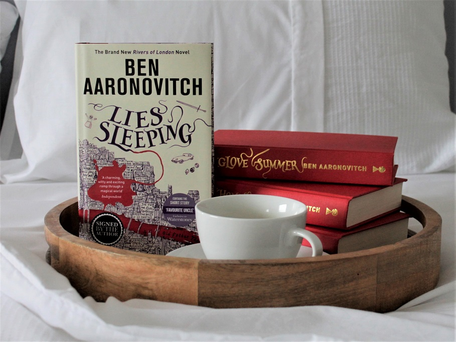 Ben Aaronovitch Lies Sleeping